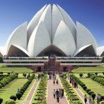 Bahajų maldos namai Naujajame Delyje, Indija