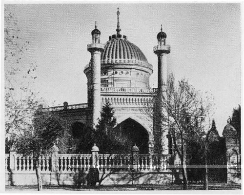 Pirmieji maldos namai Ašchabado mieste, 1908 m.