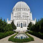 . Bahajų maldos namai Vilmetėje, Ilinojaus valstija, JAV